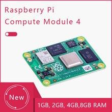 Framboesa pi módulo 4 quad-core cpu dupla saída de vídeo wifi bt 5.0 cm4 1/2/4/8g ram lite/8/16/32g emmc cm 4 io placa