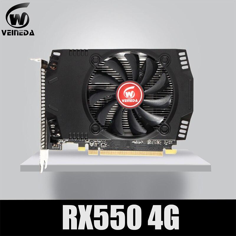 Игровая видеокарта Amd VEINEDA Radeon RX 550, 4 Гб, GDDR5, 128 бит