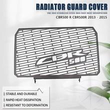 Peças da motocicleta de aço inoxidável grade radiador guarda capa protector para cbr 500 r/500r cbr500 r cbr500r 2013 2014 2015