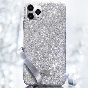 Image 5 - Bling bling glitter elmas parlayan lüks darbeye dayanıklı arka kasayı iPhone X XS XS MAX XR 12 11 Pro Max 7 8 artı funda kız