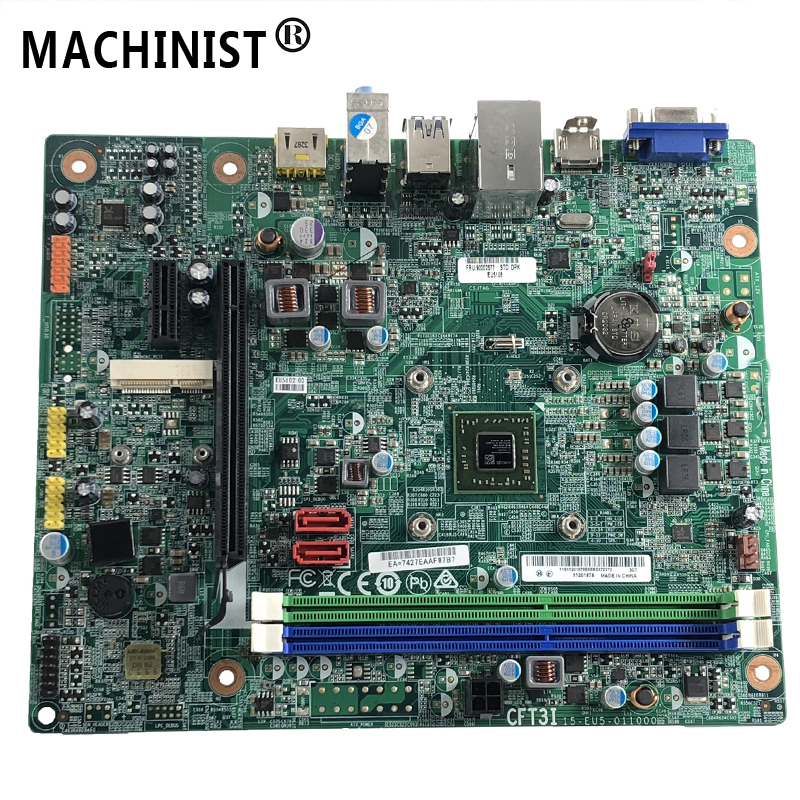Original For Lenovo H425 H515 S515 D315 Desktop motherboard MB KBY3-LT V:1.0 CFT3I DDR3 15-EU5-011000 100% fully Tested