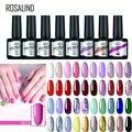 Гель-лак ROSALIND для дизайна ногтей, многоцветный эмалированный полуперманентный праймер для базового и базового покрытия ногтей, 7 мл