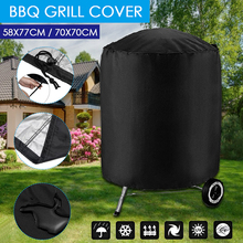 Protector Covers Grill Bbq-Accessories Barbeque Anti-Dust Electric Waterproof Black Rain