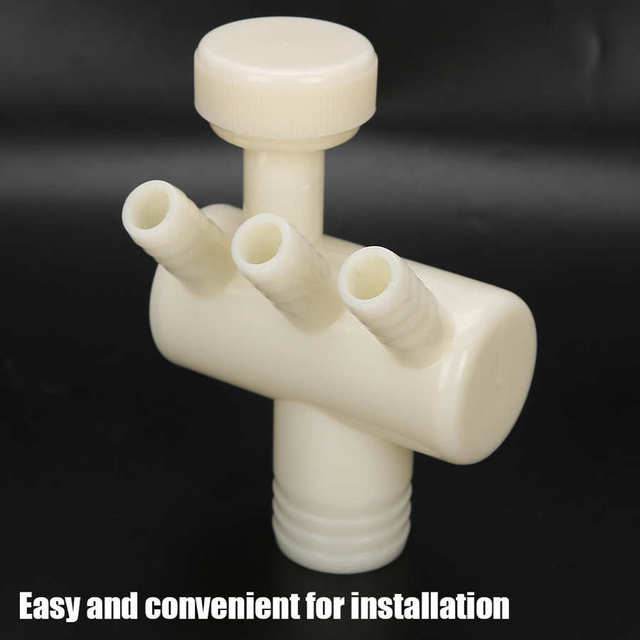 Dental Drain Pipe Valve Adapter Dental Tooth Chair Supplies Part Accessory for Dentist Oral Care Tool Teeth Whitening Tools