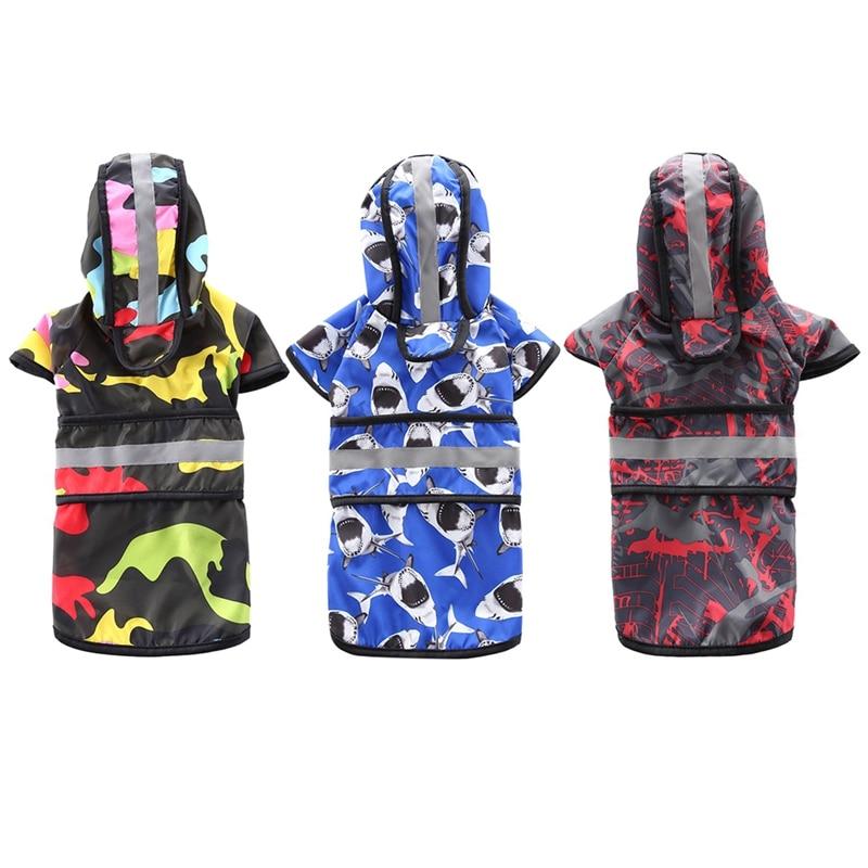 Waterproof font b Pet b font Raincoat Jacket font b Pet b font Clothes Reflective Safety