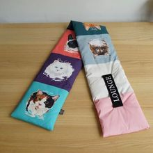 2018 New Scarf Female Cute Animal Cat and Dog Printed Featherneck Winter Warm