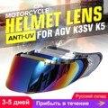 Шлем козырек для AGV K5 K3 SV мотоциклетный шлем щит очки мотоциклетный шлем объектив полное лицо козырек для мотокросса