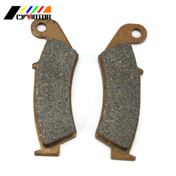 Motorcycle Front Brake Pads For HONDA CRM50 CRM75 CR125 CRM250R NX250 XL250 CR CRM NX TRX XL XR 125 250 500 600 F AX-1 image