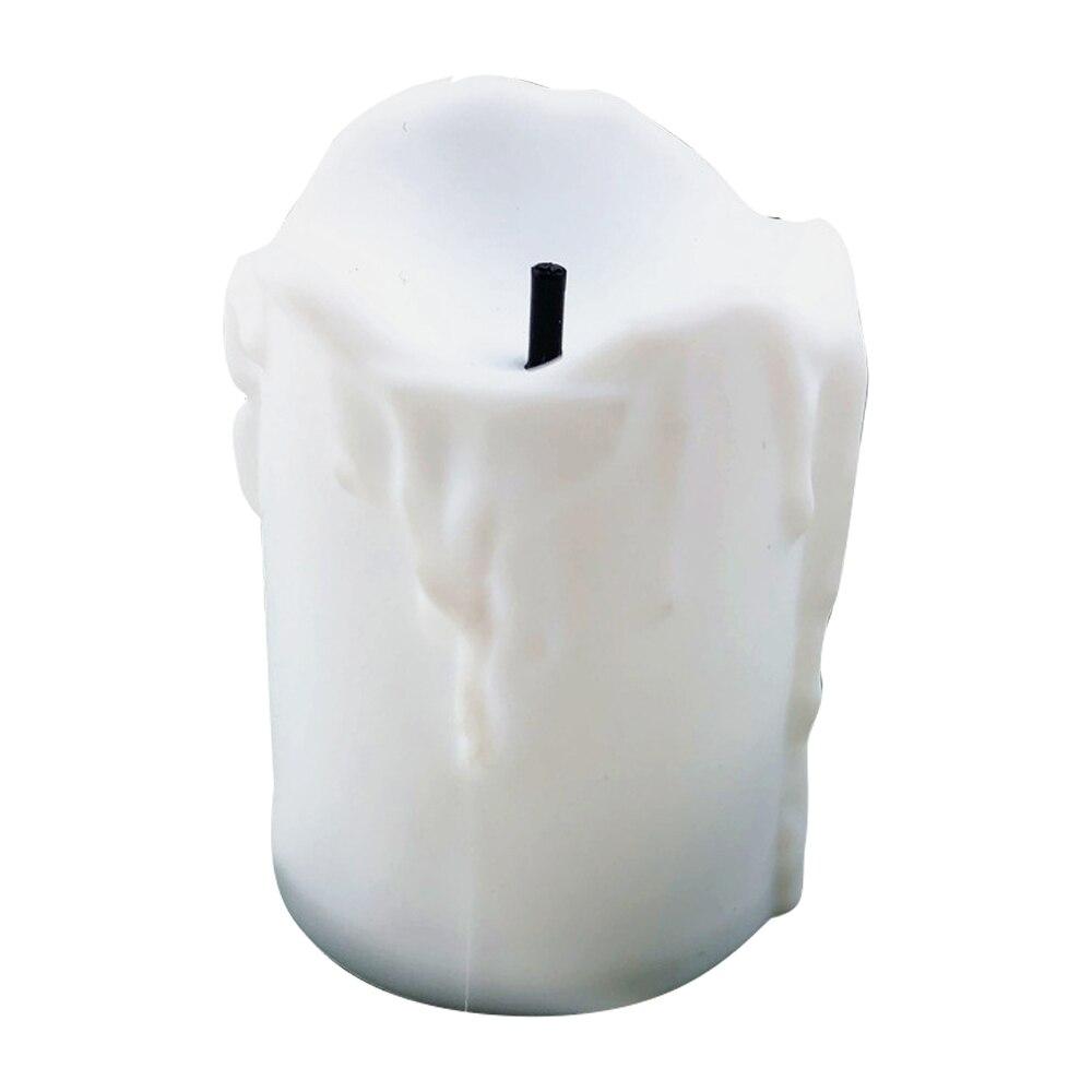 Светильник-свеча светодиодный электронный мерцающий Свадебный пульт дистанционного управления батарея романтический дом лучший подарок беспламенный Рождественский Декор