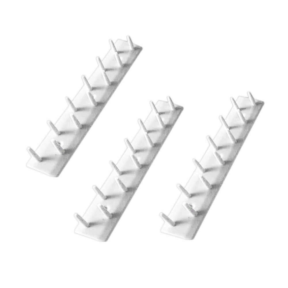 Design pratico di Mostra Dei Monili Dell'orecchino Della Collana Del Braccialetto Dell'organizzatore Display Stand Supporto Della Cremagliera Della Parete Gancio per Gioielli LESHP