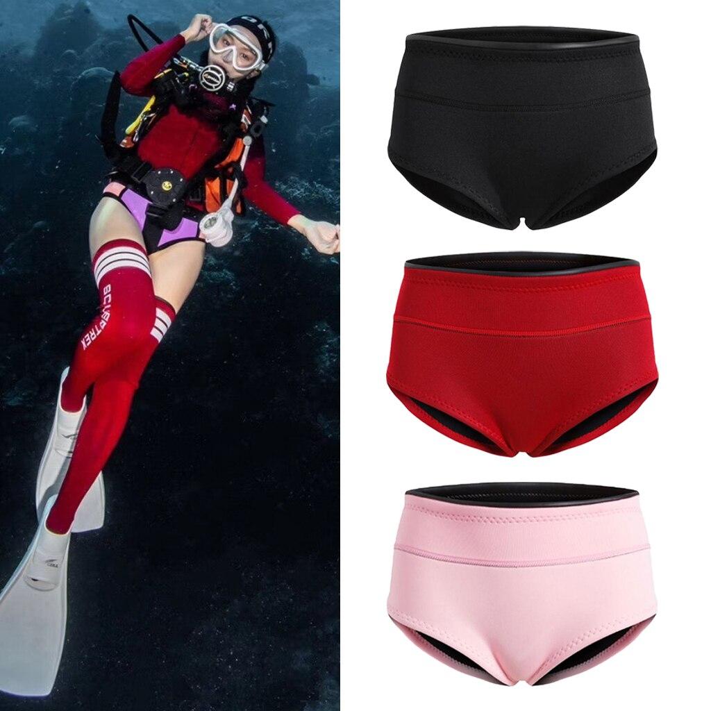 1.5mm Diving Wet Suit Pants Swimwear Bikini Bottom Brief Shorts Shorties for Women Sailing Boating Snorkeling Wetsuit