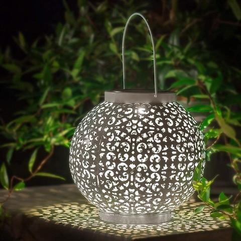 do jardim ao ar livre luzes de