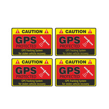 뜨거운 판매주의 GPS 추적 시스템 보호 된 KK 비닐 자동차 스티커 데칼 사랑스러운 창 자동차 액세서리 인테리어 16*12cm