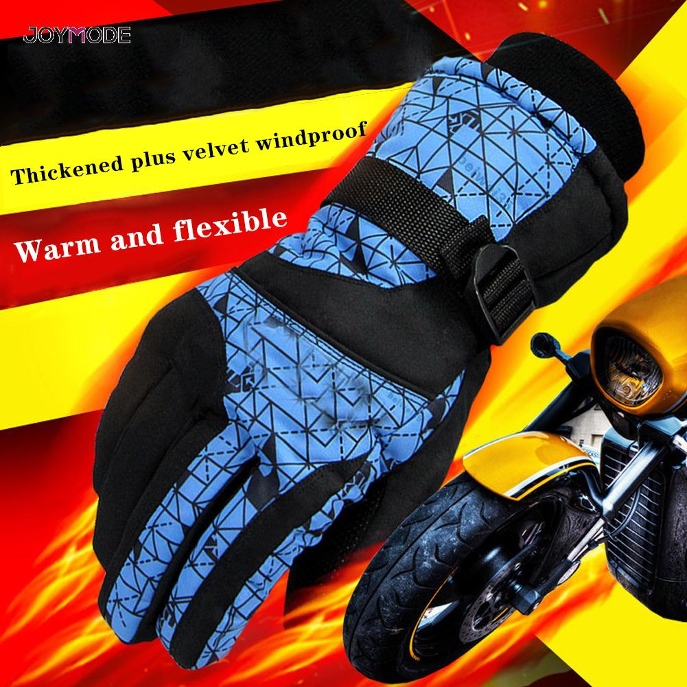 2019 New Men's Ski Gloves Snowboard Gloves Snowmobile Motorcycle Riding Winter Gloves Windproof Waterproof Unisex Snow Gloves