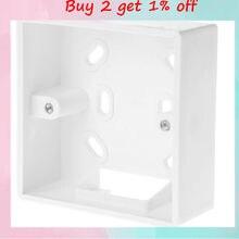 86*86mm Wand Montiert Junction Box Für Thermostat Temperatur Controller Box Fall Halter
