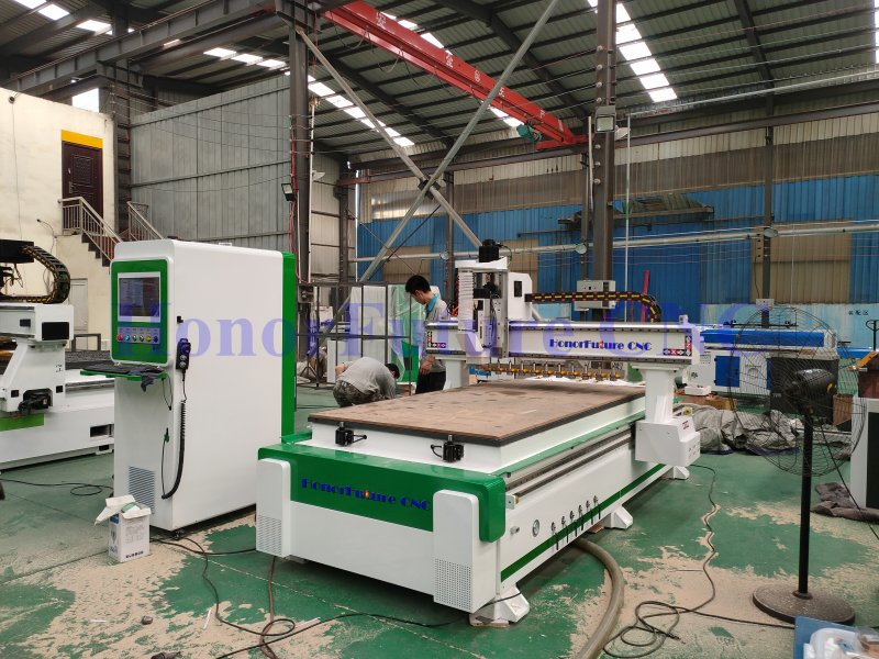 Automatic Tool Changers Woodworking Cnc Router, Wood Cutting Cnc Machine