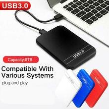 2.5 inch USB 3.0 IDE E 6TB xternal Hard Disk Drive Enclosure HDD Box Case High Speed Data Transfer for Windows