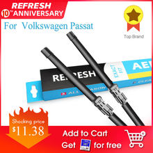 Refresh Ruitenwissers Voor Volkswagen Vw Passat B5 B6 B7 B8 Fit Side Pin/Drukknop Arm Model jaar 2002-2019(China)
