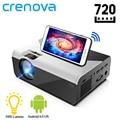 CRENOVA мини светодиодный проектор G08 1280*720P 3000 люмен андроид проектор для WI-FI Proyector для телефона Поддержка 4K 3D домашнего видео проектор