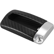 Real Carbon Fiber Key Fob Key Case Cover Silver Base Fit for INFINITIQ50 QX50 FX37 JX35 Q70,Fit for NISSAN GTR(China)