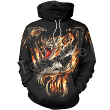 Tessffel Dragon Art Animal Harajuku MenWomen HipHop 3DPrinted Sweatshirts/hoodie/jackt/shirts Tracksuits Casual Colorful Style21