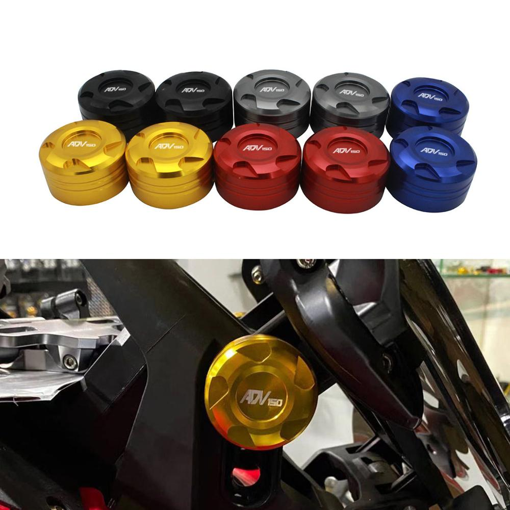 SEMSPEED CNC New ADV150 Accessories 2PCS Windscreen Adapter Cover Decorative Height Side Adapter Cap Cover For ADV 150 2019-2020