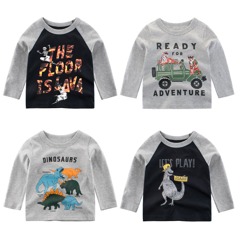 long sleeve children t-shirt for boy autumn 2019 boys t shirt toddler child tshirt baby girls tops garcon kids shirts costume