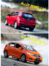 Ant Honda Fit Alloy Car Model Sound and Light Car Boy Car Toy Metal Car Model Collection Decoration Toy Car  1:28 Model Cars стоимость