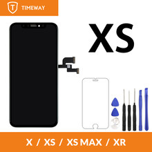 For iPhone XS LCD Screen Display For Tianma OLED OEM Touch Screen With Digitizer Replacement Assembly Parts Black(China)