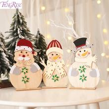 Get more info on the Snowman Wooden Christmas Ornament 2019 Merry Christmas Decoration For Home Xmas Tree Hanging Navidad Noel Pendants New Year 2020