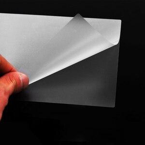 Image 3 - 100 ピース/ロット 50 マイク、 a4 熱ラミネートフィルムペット用/ファイル/カード/写真積層ロールフィルムプラスチックフィルム Plastifieuse