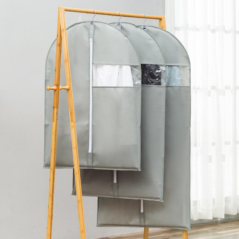 Шкаф организации чехол для одежды защиты от пыли бытовые висит
