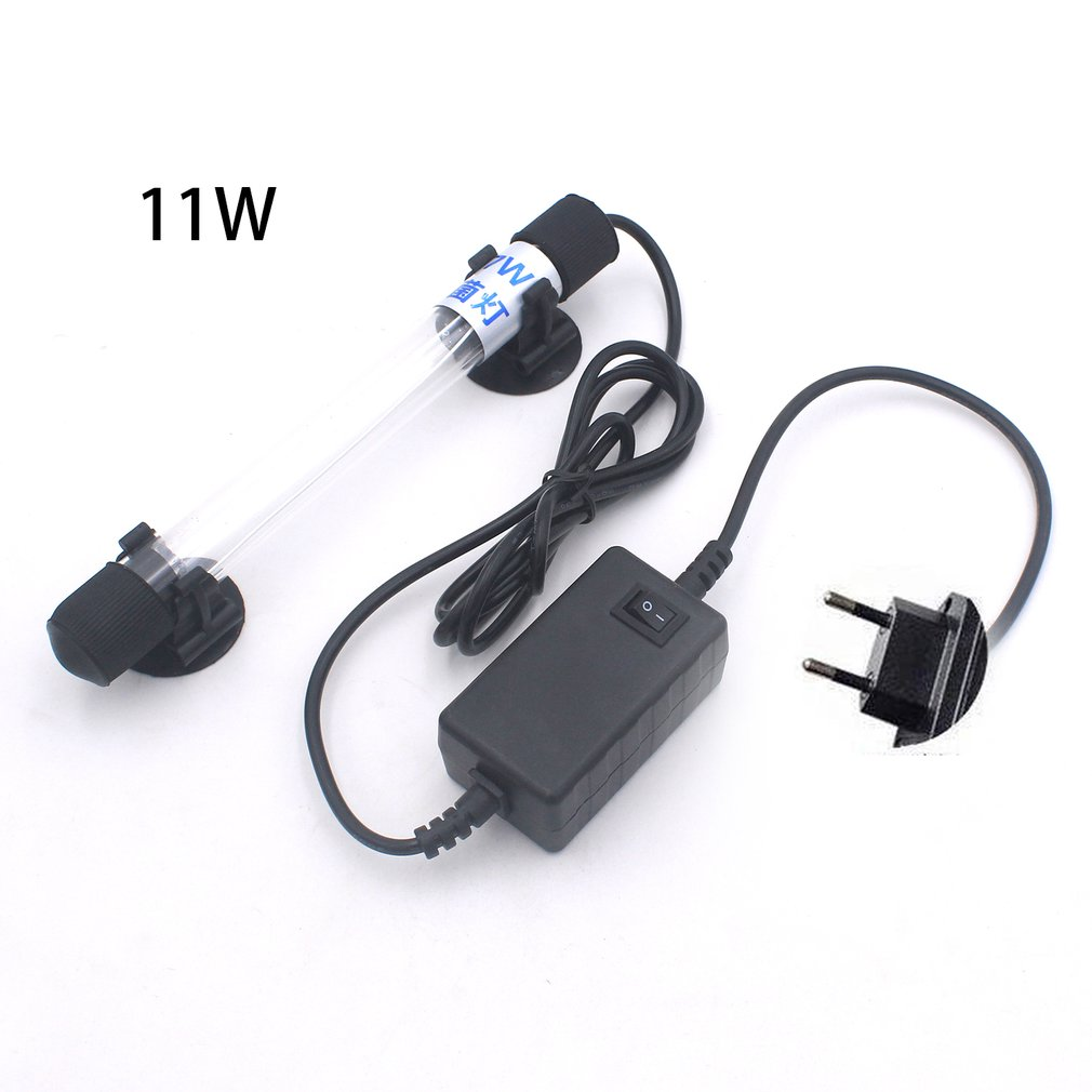 Practical Design Waterproof UV Sterilizer Submersible UV Lamp UV Water Purification Lighting Fish Tank Aquarium Light LED Lamp