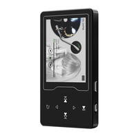 8 GB 2.4 Inch Reading Loud Voice Touch Screen MP4 Player Recording FM Radio Color Display Ultra Thin Bluetooth 4.2 Music Listen