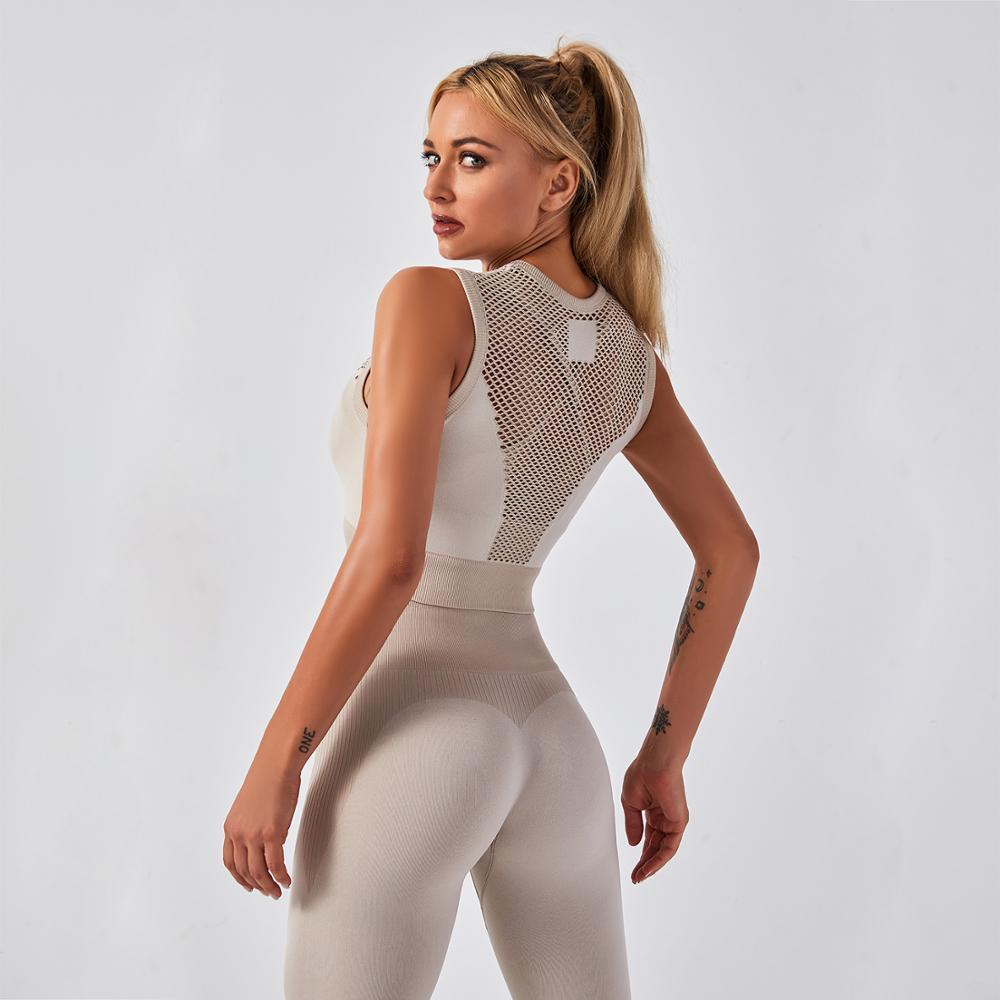 Спортивные бюстгальтеры, женский спортивный бюстгальтер для йоги, жилет, нижнее белье, Бралетт, бесшовный топ для женщин, спортивный топ для...