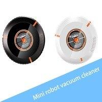 Ультра тонкий дизайн usb зарядка умный моющийся микрофибра Авто Роботизированная Швабра пол робот пылесос чистящее устройство