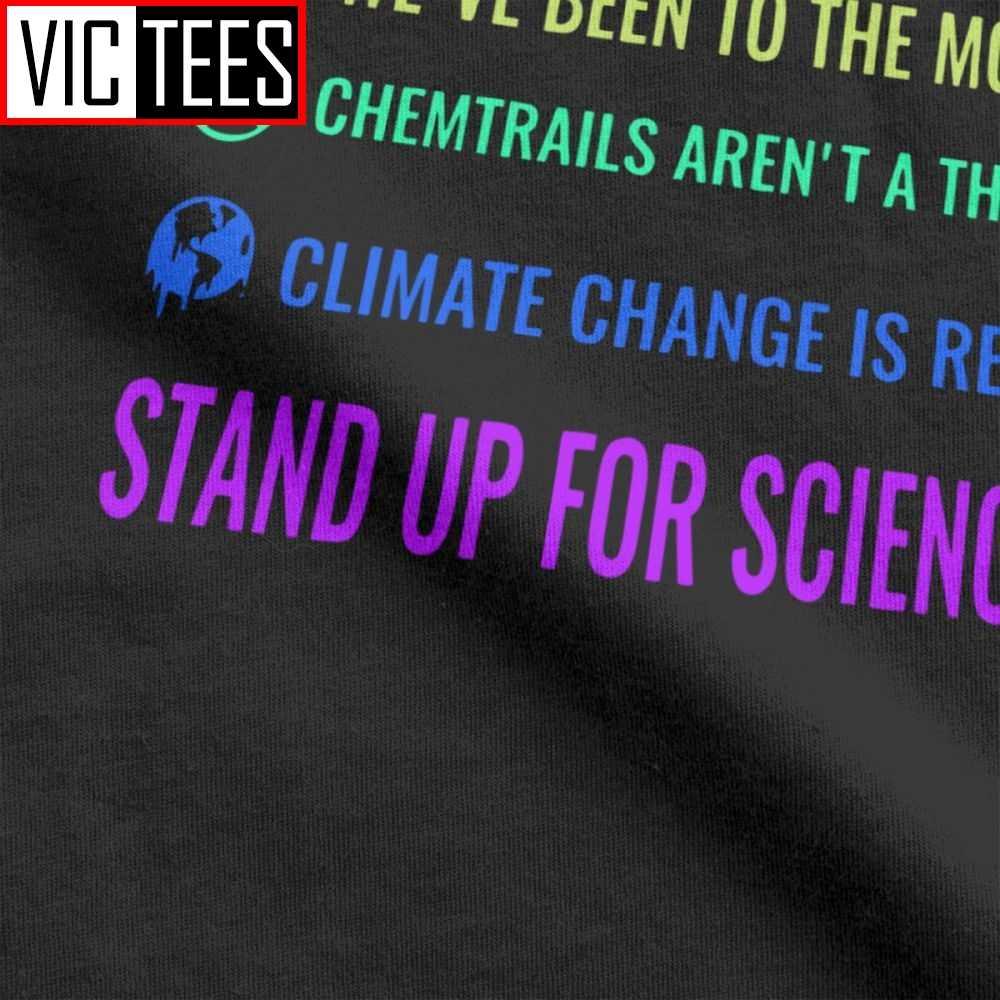 男性のヴィンテージ地球ワクチン Chemtrails 気候変動科学 Tシャツの男性の綿 Tシャツ地球温暖化物理学 Tシャツ服