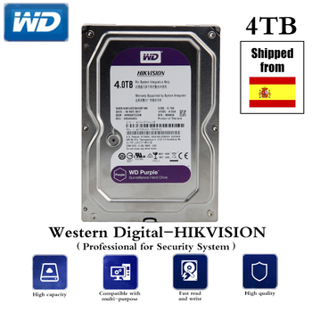 HDD Professional for CCTV 4TB/6TB/1TB 3.5 Inch SATA Interface Hard Disk AHD DVR NVR Security System Free Shipping - sale item Transmission & Cables