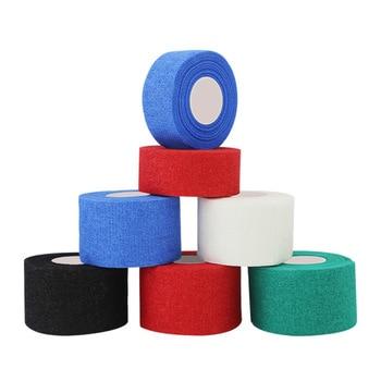 Width 3.8cm/2.5cm Length 9.1m Gauze Golf Tape G-tape Ice Hockey Grip Tape Good Grip Hockey Goves Prevent Ice Hockey Tape 1 Roll tengjia аэрохоккей ice hockey 628 12a