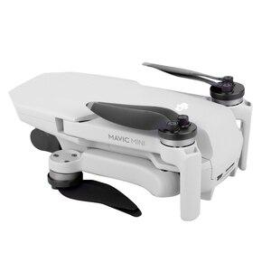 Image 3 - 4 PCS Motor Cover Cap for DJI Mavic Mini Drone Dust proof Engine Protector Guard Protective Accessory Aluminium Light Slip over