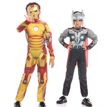 Star Wars Deadpool Thor Ant Man Panther Costumes Spiderman Superman Iron Cosplay Costume Carnival Halloween for Kids