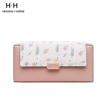 Women Long Wallets Small Fashion Brand PU Purse Women Ladies Card Bag For Women 2020 Clutch Women Female Purse Money Clip Wallet