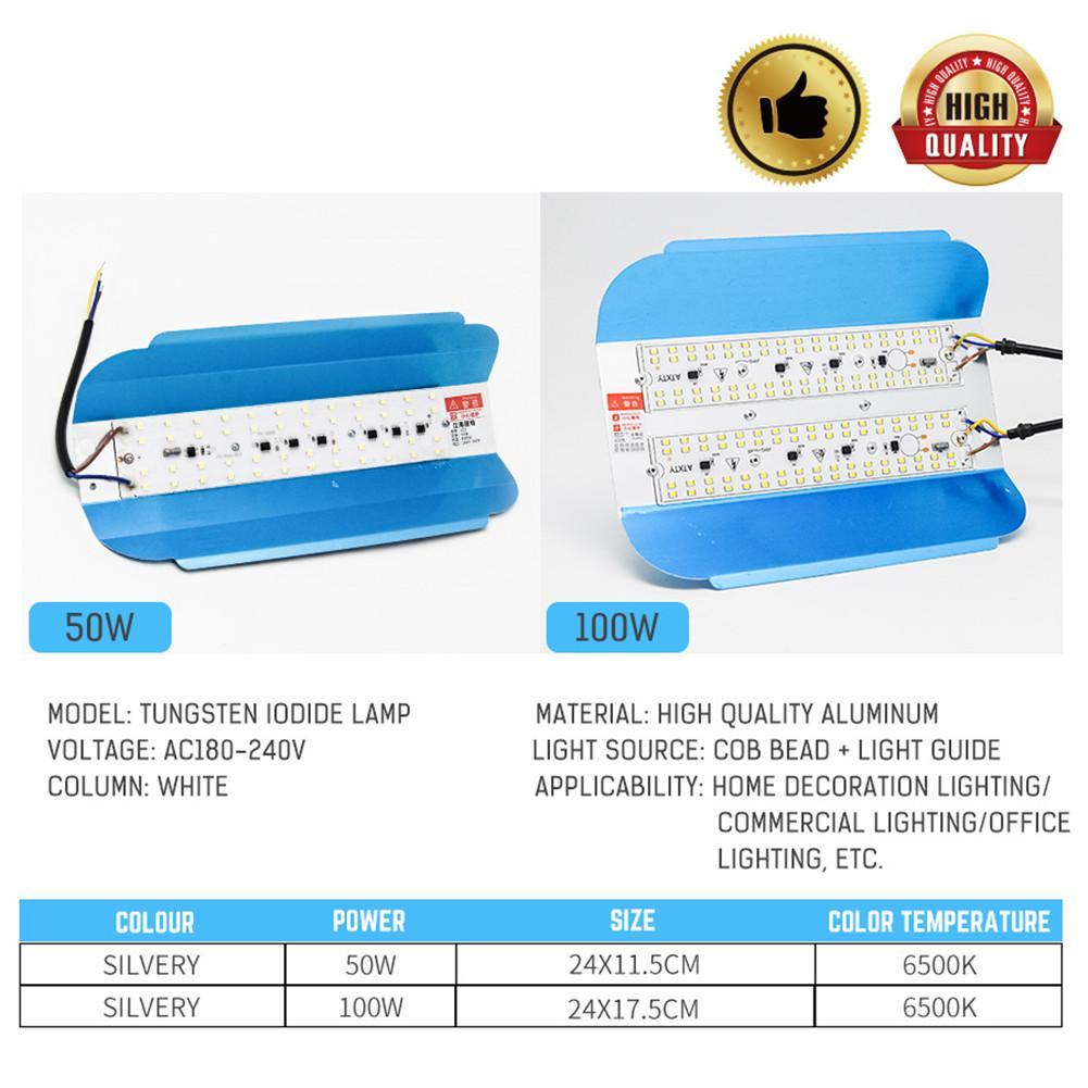 LED Iodine-Tungsten 100W Floodlight Flood Light 220V LED Spotlight Refletor LED Outdoor Lighting Garden Lamp Newest