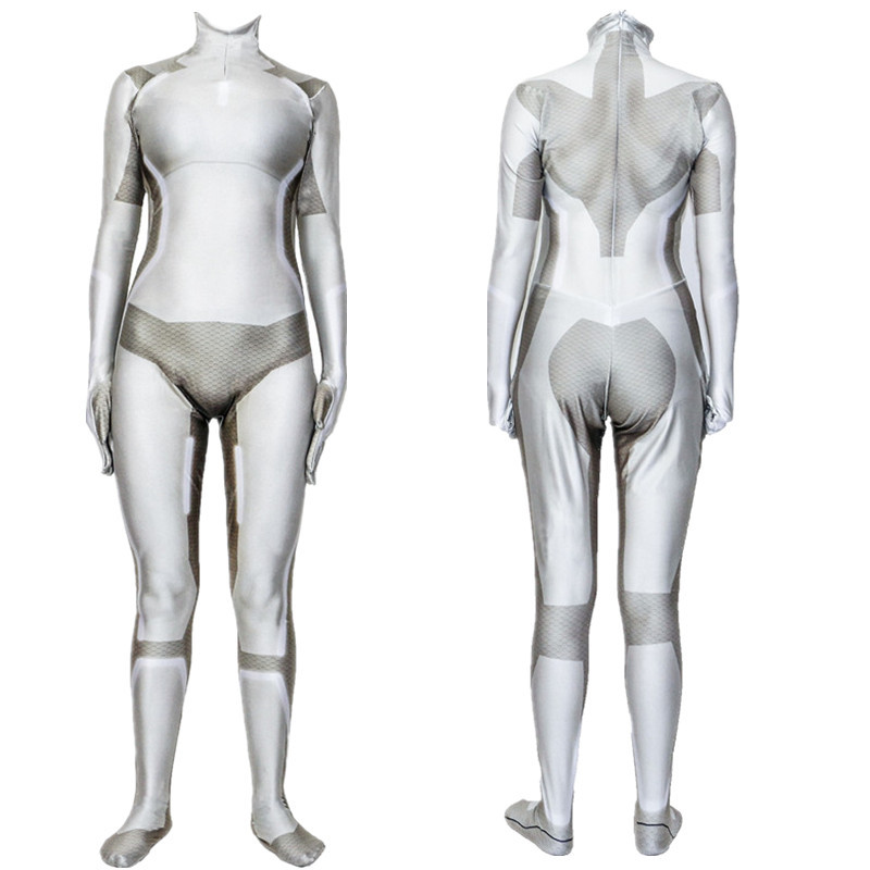 Anime Ghost In The Shell Kusanagi Motoko Cosplay Costume 3d Print Spandex Zentai Bodysuit Suit Jumpsuits Women Kids Halloween Aliexpress