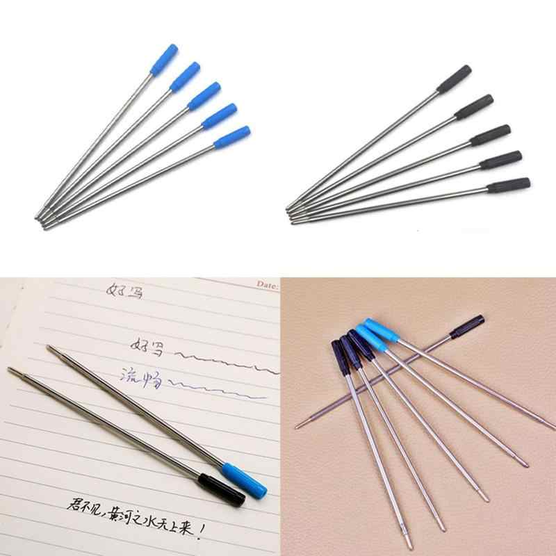 Wholesale Ballpoint Metal Pen Refill 1.0mm Length 11.6cm Stainless Ink Replacement Refill Black Steel Refill Blue Pen And S M8S6