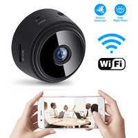 Hd 1080 p mini wifi câmera ip sem fio de segurança em casa dvr visão noturna movimento detectar mini filmadora loop gravador vídeo atacado