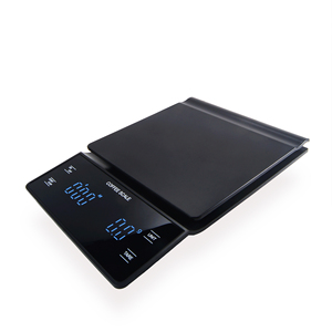 Image 5 - Electronic Coffee Scale Hand Versatile Bar Electronic Scale Gram Scale with Timer 3KG Kitchen Scale  LED Display  Food Scale
