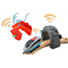 3pcs Smart Train Set Diecast Intelligent Kids Train Toys Compatible for Wooden Track The Train Electric Toys for Children стоимость