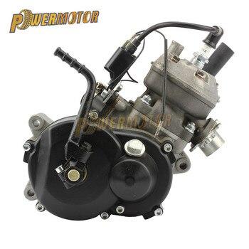 Motor refrigerado por agua de 49CC para motocicleta 05 KTM 50 SX 50 SX PRO Dirt Bike Pit Bike Cross con palanca de arranque