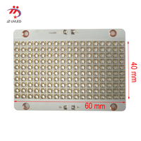 604035 A7J Uv Led Module Voor Uv Gel Genezen Lichten Uv Flatbed Printer Inkt Vernis Curing Droog Lampen 365nm 395nm ultraviolet Lichten